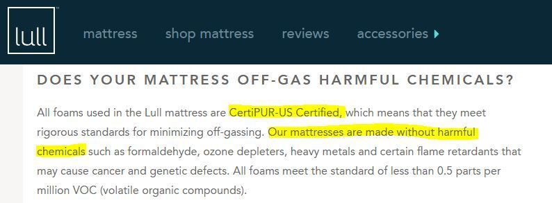 Are-Lull-Mattresses-toxic-no-certipur-us-certified-no-harmful-chemicals-no-toxic