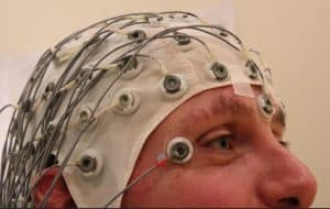 (EEG) Electroencephalography to measure brain waves