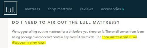 How soon can I sleep on my lull mattress?