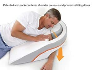 Sleep Gift For Him Advanced Pillow Wedge Shoulder Pain