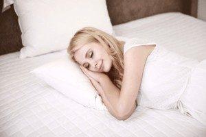 Sleeping in Latex Foam