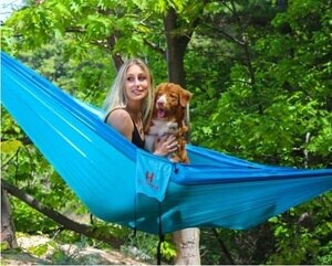 Use a Hammock as a bed while RVing