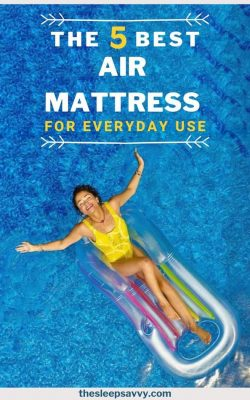 Best Air Mattress for Everyday Use_ The Top 5 Reviewed & Compared -Complete With Buyer's Guide_