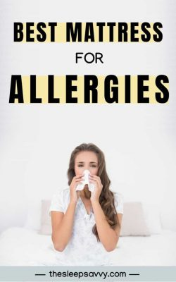 Best Mattress for Allergies (2019)_ The Top 5 Reviewed & Compared – Complete With Buyer's Guide