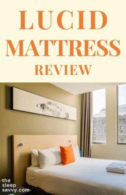 Lucid Mattress Review_ Is The 10″ Memory Foam Plush Enough_2