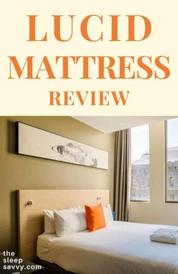 Lucid Mattress Review_ Is The 10″ Memory Foam Plush Enough_2