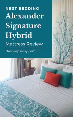 Nest Bedding Review_ Best Sleep Ever With The Alexander Signature Hybrid Mattress_3
