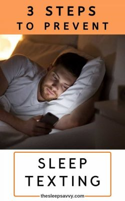 Sleep Texting - 3 Steps to Prevent New Sleeping Disorder