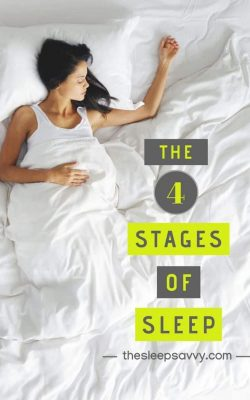 The 4 Stages of Sleep (REM vs Non-REM), Sleep Cycles & Brainwaves